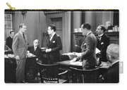 Silent Still: Courtroom Carry-all Pouch