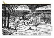 Spirit Lake Massacre, 1857 Carry-all Pouch