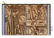 St. Catherine, Italian Philosopher Carry-all Pouch by Photo Researchers