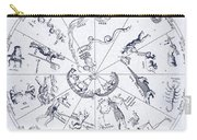 Star Map From Kirchers Oedipus Carry-all Pouch by Science Source