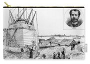 Statue Of Liberty, C1884 Carry-all Pouch by Granger