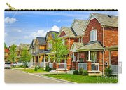 Suburban Homes Carry-all Pouch by Elena Elisseeva