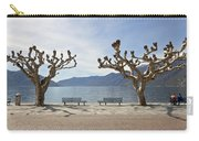 sycamore trees in Ascona - Ticino Carry-all Pouch