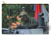 Tank Commander Of A Leopard 1a5 Mbt Carry-all Pouch