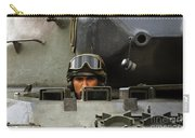 Tank Driver Of A Leopard 1a5 Mbt Carry-all Pouch