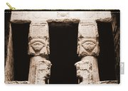 Temple Of Hathor Carry-all Pouch
