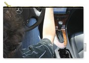 Texting And Driving Carry-all Pouch by Photo Researchers, Inc.