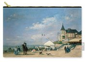 The Beach At Trouville Carry-all Pouch