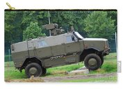 The Dingo 2 Mppv Of The Belgian Army Carry-all Pouch