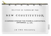 The Federalist, 1788 Carry-all Pouch