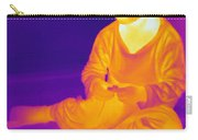 Thermogram Of A Boy Carry-all Pouch