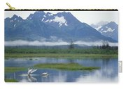 Trumpeter Swan Cygnus Buccinator Pair Carry-all Pouch