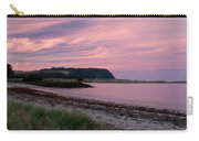 Twilight After A Sunset At A Beach Carry-all Pouch by Ulrich Schade