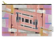 Urban Abstract San Diego Carry-all Pouch by Carol Leigh