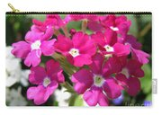 Verbena From The Ideal Florist Mix Carry-all Pouch