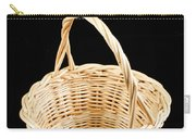 Wicker Basket Carry-all Pouch
