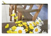 Wildflowers Bouquet At Cottage Carry-all Pouch