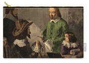 William Harvey, English Physician Carry-all Pouch by Photo Researchers