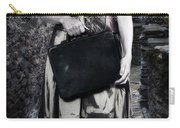 Woman In Alley Carry-all Pouch by Joana Kruse