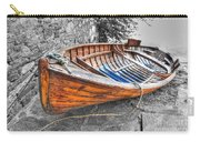 Wood Boat Carry-all Pouch