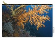 Yellow Sea Fan In Raja Ampat, Indonesia Carry-all Pouch