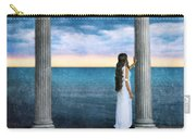 Young Woman As A Classical Woman Of Ancient Egypt Rome Or Greece Carry-all Pouch