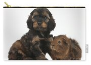 Puppy And Guinea Pig Carry-all Pouch