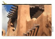 Santa Fe - Adobe Building Carry-all Pouch