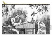 Charles Dickens (1812-1870) Carry-all Pouch