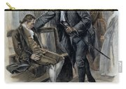 Benjamin Franklin (1706-1790) Carry-all Pouch by Granger