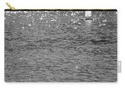 2boats2ducks In Black And White Carry-all Pouch