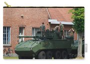 A Belgian Army Piranha IIic Carry-all Pouch