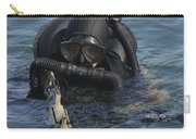 A Navy Seal Combat Swimmer Carry-all Pouch by Michael Wood