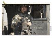 A Uh-60 Black Hawk Door Gunner Manning Carry-all Pouch