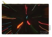 Abstract Motion Lights Carry-all Pouch