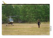 An Agusta A109 Helicopter Carry-all Pouch by Luc De Jaeger