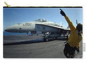 Aviation Boatswains Mate Directs Carry-all Pouch