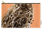 Bacteria On Sorghum Root Tip Carry-all Pouch