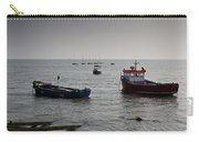 Boats Moored Off Of Leigh Essex Carry-all Pouch