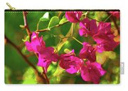 3- Bougainvillea Carry-all Pouch