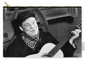 Burl Ives (1909-1995) Carry-all Pouch