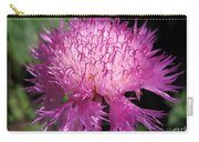 Centaurea From The Sweet Sultan Mix Carry-all Pouch