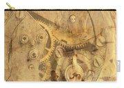 Clockwork Mechanism Carry-all Pouch