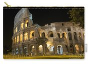 Coliseum Illuminated At Night. Rome Carry-all Pouch