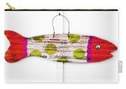 Deco Fish Red Carry-all Pouch