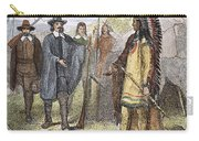Edward Winslow (1595-1655) Carry-all Pouch