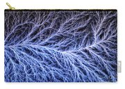 Electrical Discharge Lichtenberg Figure Carry-all Pouch by Ted Kinsman