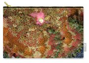 Fluorescent Sea Anemone Carry-all Pouch