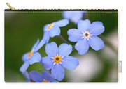 Forget Me Not Carry-all Pouch
