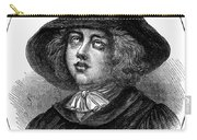 George Fox (1624-1691) Carry-all Pouch
